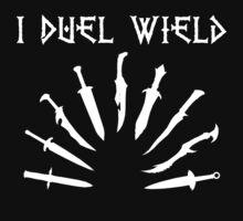 Skyrim Duel Wield Daggers by GlitterZombie
