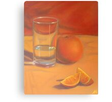 Orange you glad its not water? Canvas Print