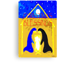 CHRISTMAS BLESSINGS 3 Canvas Print