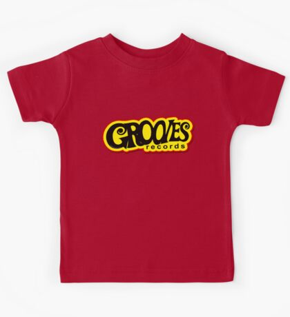 Grooves Records Kids Tee