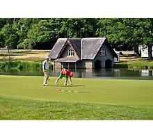 Golfers at Carton House Photographic Print