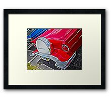 Cruisin Red T-Bird Framed Print