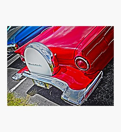 Cruisin Red T-Bird Photographic Print