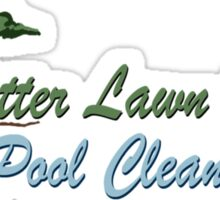 Better Lawn Service Sticker