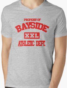 Bayside Athletics Mens V-Neck T-Shirt