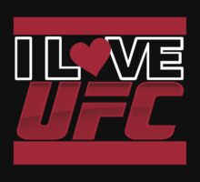 I Love UFC - Ultimate Fighting Championship by DarkLord1st