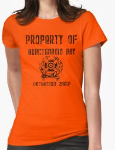 Guantanamo Bay Detention Camp Womens Fitted T-Shirt