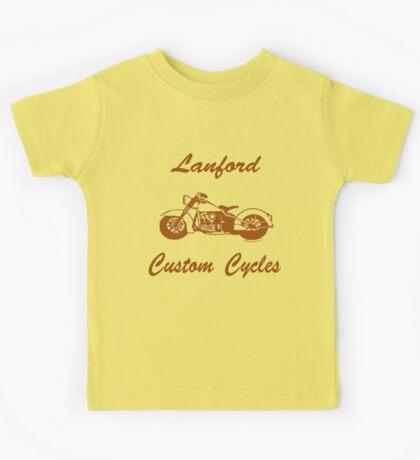 Lanford Custom Cycles Kids Tee