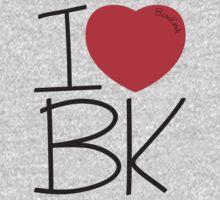 Bone Kandi - I Love BK One Piece - Short Sleeve