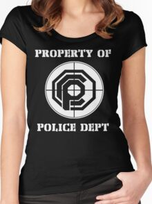 OCP Police Department Women's Fitted Scoop T-Shirt