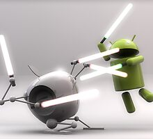 android vs apple by LeS0603