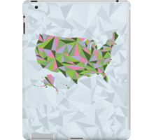 Abstract America Spring Bloom iPad Case/Skin