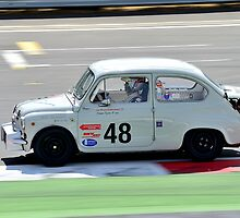 Fiat Abarth No 48 by Willie Jackson