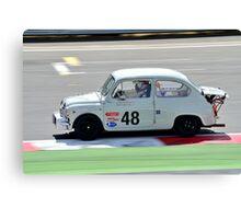 Fiat Abarth No 48 Canvas Print