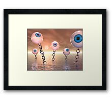 Big Vision And Chains Framed Print