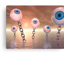 Big Vision And Chains Canvas Print