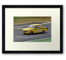 Ford Lotus Cortina No 5 Framed Print