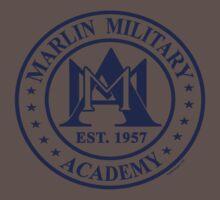 Marlin Military Academy One Piece - Short Sleeve