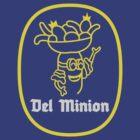 Del Minions Brand Bananas by manikx