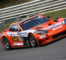 Ginetta G55 GT3 - White and Sharp by Matt Dean