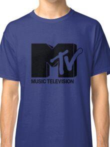 Black MTV Classic T-Shirt