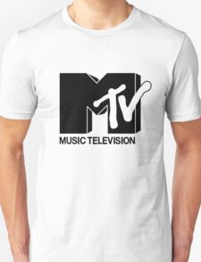 Black MTV Unisex T-Shirt
