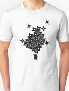 Ninja Tesselations Unisex T-Shirt