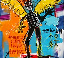 BASQUIAT ANGEL BY AUGUSTO SANCHEZ by angelsinmyheart