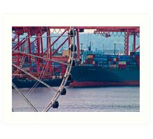 Seattle Seaport Art Print