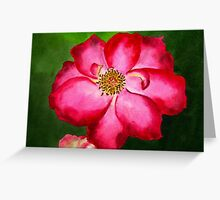 Tennessee Rose Watercolor Greeting Card