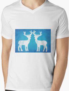 Rudy Blues Mens V-Neck T-Shirt