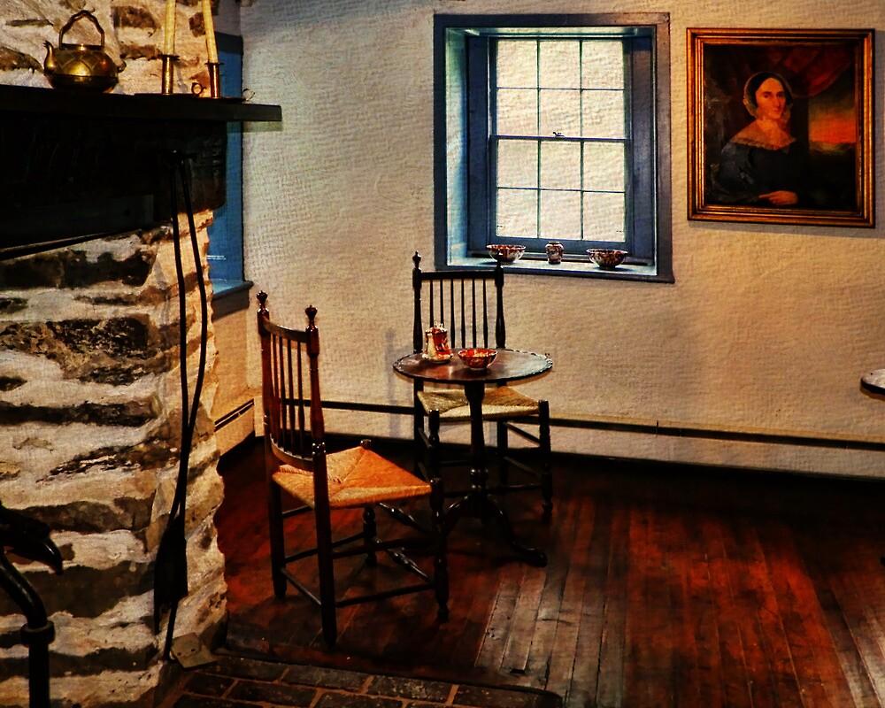 Gomez Mill House Bedroom Corner by PineSinger