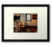 Gomez Mill House Bedroom Corner Framed Print