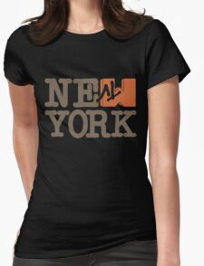 MTV New York Womens Fitted T-Shirt