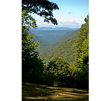Babcock State Park Lookout Photographic Print