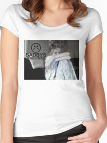 Despair Women's Fitted Scoop T-Shirt