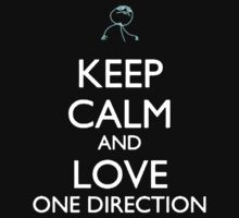 Keep Calm And Love One Direction by Phaedrart
