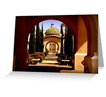 Through Arches Does Sunlight Play Greeting Card