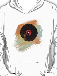 Vinyl Record Retro T-Shirt - Vinyl Records New Grunge Design T-Shirt