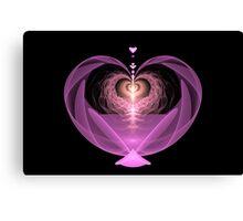 Fluttering Heart Canvas Print