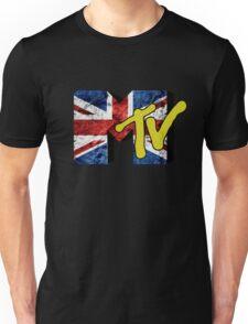 MTV Union Jack Flag Unisex T-Shirt
