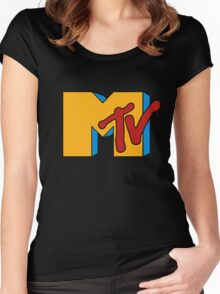 Retro MTV Women's Fitted Scoop T-Shirt