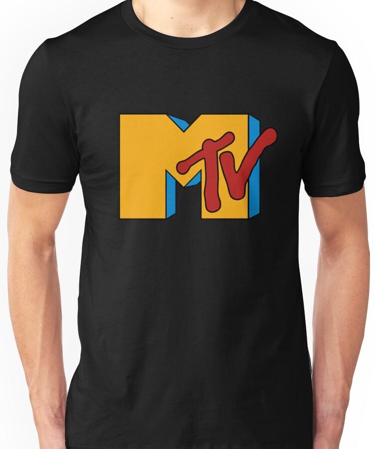 Retro 1980s MTV Logo Unisex T-Shirt