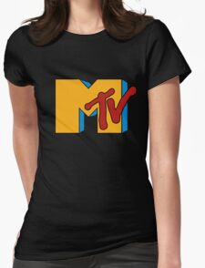 Retro MTV Womens Fitted T-Shirt