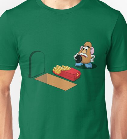 Toy Story Mr Potato Head Burying his dead T-Shirt