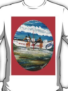 Beach Bums II & Their Budgie Smugglers  T-Shirt
