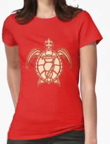 Kap Turtle Womens Fitted T-Shirt