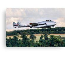 DH100 Vampire FB.6 PX-K LN-DHY Canvas Print