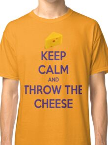 Throw the Cheese Classic T-Shirt