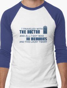 Lousy Doctor Who t-shirt Men's Baseball ¾ T-Shirt